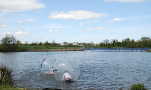 Water Walking Zorbs 4