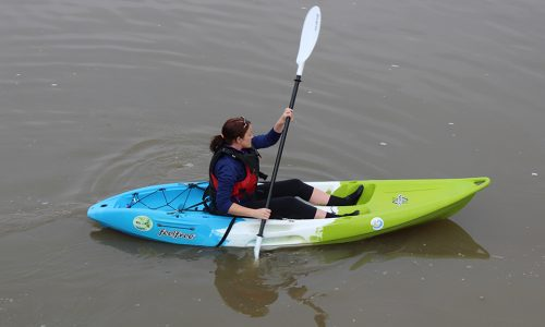 Blueways 10k Single Kayak Green Blue