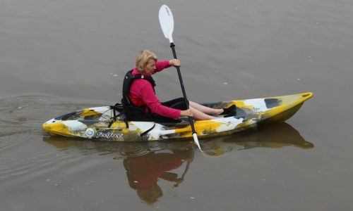 Blueways 10k Single Kayak Yellow
