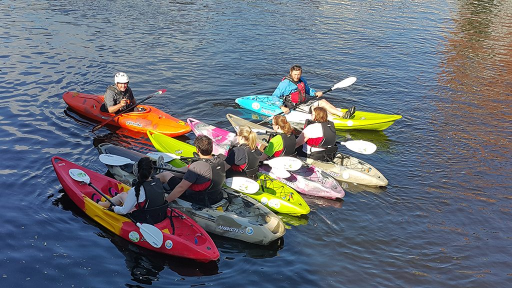 Kayaking Limerick 2