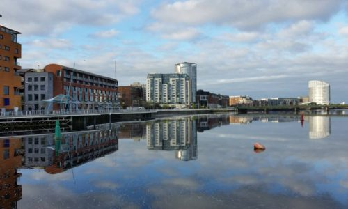 Cycling tours over Sarsfield Bridge