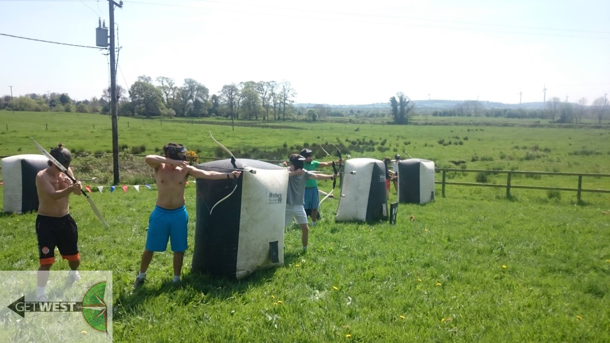 Stag Party Ballaghmore Castle Archery Tag