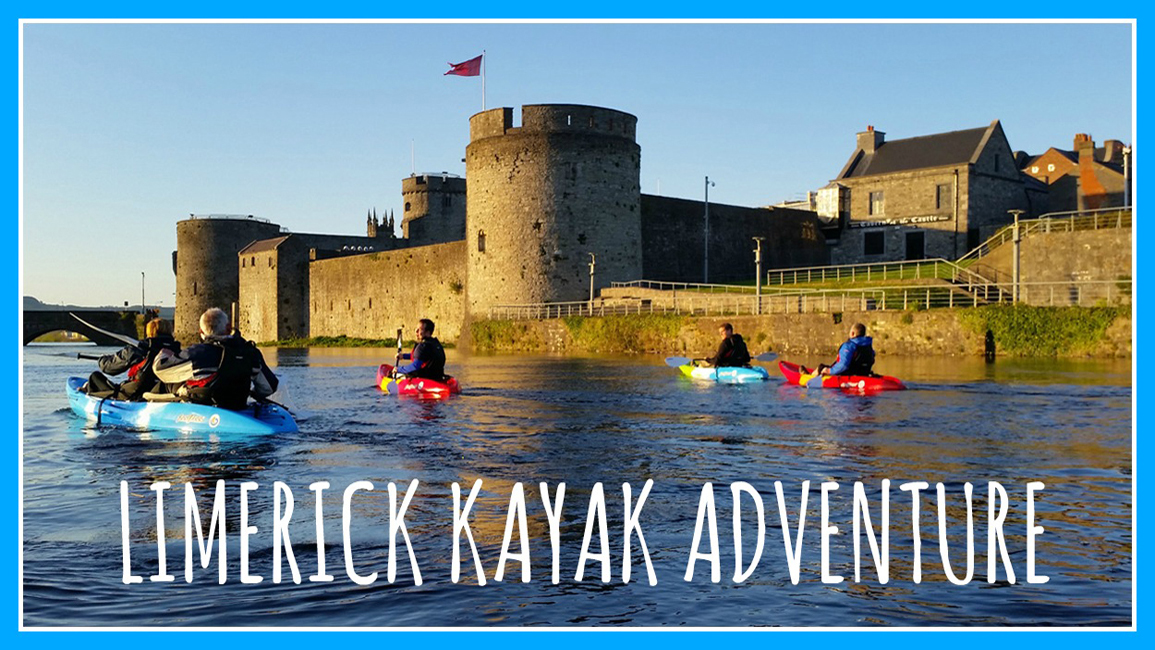 Stag Activities - Limerick Kayak Adventure
