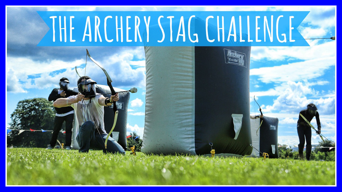Stag Activities - The Archery Stag Challenge