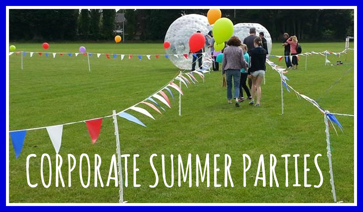 Corporate Summer Party Banner