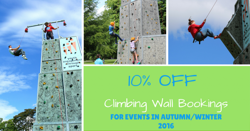 Climbing Wall for Hire