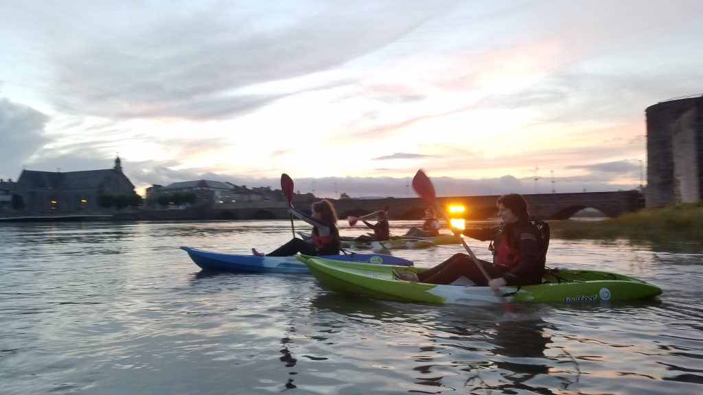 Night Kayaking Limerick