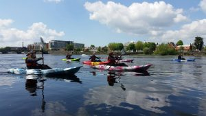 kayaking for corporate groups 2
