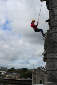 Abseiling 14